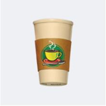 Taza de café de papel