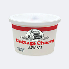 Cottage cheese tub