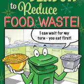 Binny Says, Tis the Season to Stop Food Waste